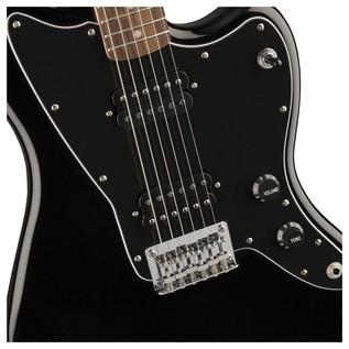 Squier by Fender Affinity Jazzmaster Guitar, Black