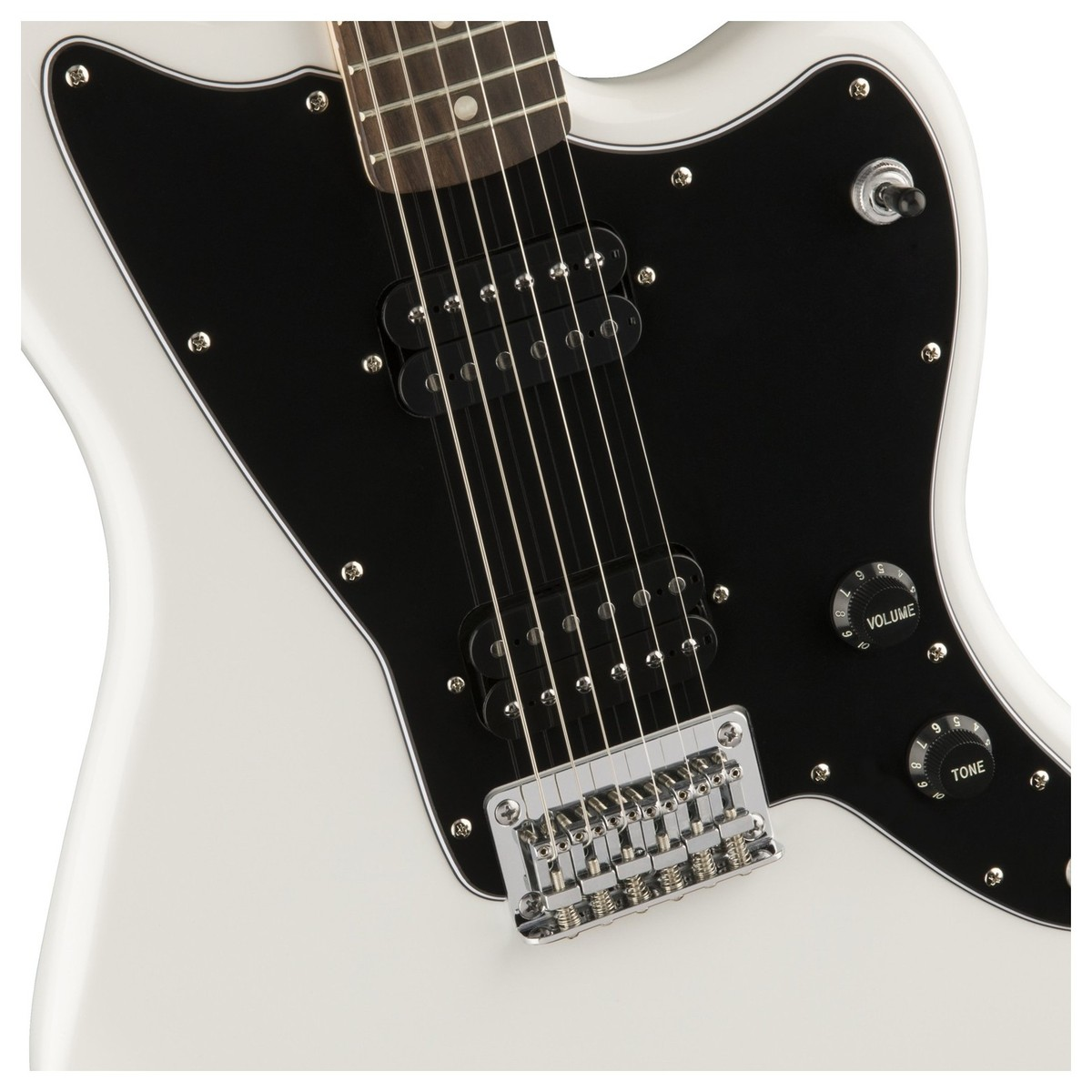squier by fender affinity jazzmaster hh electric guitar arctic white at. Black Bedroom Furniture Sets. Home Design Ideas
