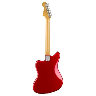 Squier by Fender Deluxe Jazzmaster ST Electric Guitar, Candy Apple Red