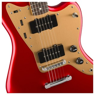 Squier by Fender Deluxe Jazzmaster Candy Apple Red