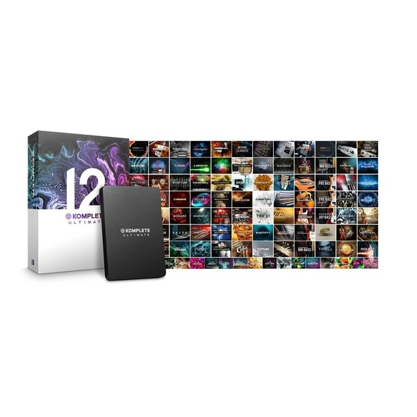 Native Instruments Komplete 12 Ultimate - Boxed