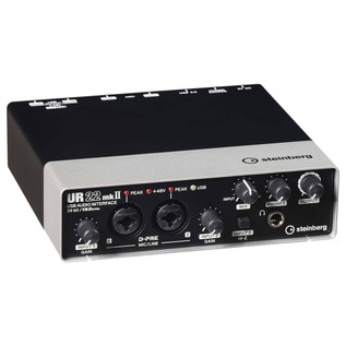 Steinberg UR22 Mk 2 USB Audio Interface - Angled Front