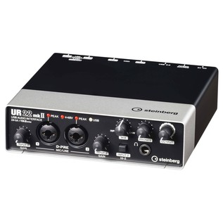Steinberg UR22 MK 2 Audio Interface - Angled Front 2