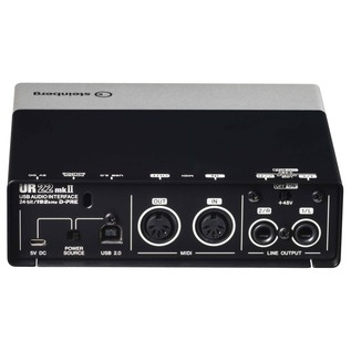 Steinberg UR22 MK II USB Audio Interface - Rear