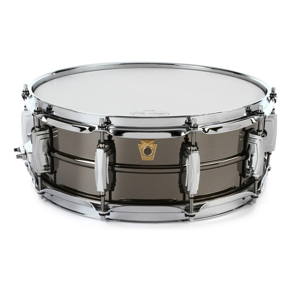 "Ludwig LB416 14"" x 5.5"" Black Beauty Snare Drum, Imperial Lugs"