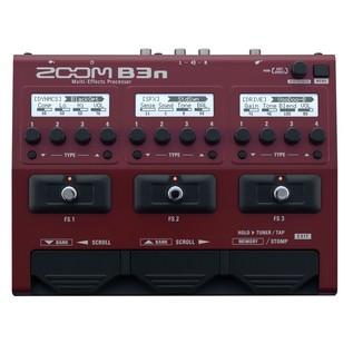 Zoom B3n Bass FX Pedal