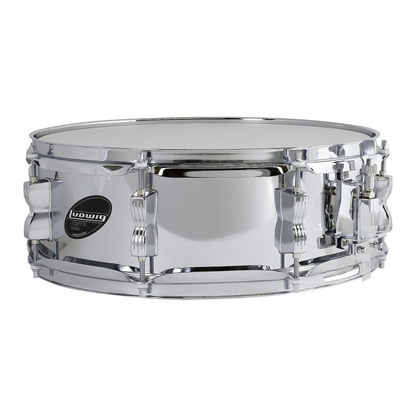 Ludwig Accent 14 x 5 Chrome over Steel Snare Drum