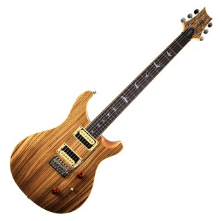 PRS SE LTD Edition Exotic Wood Custom 24, Zebrawood 1