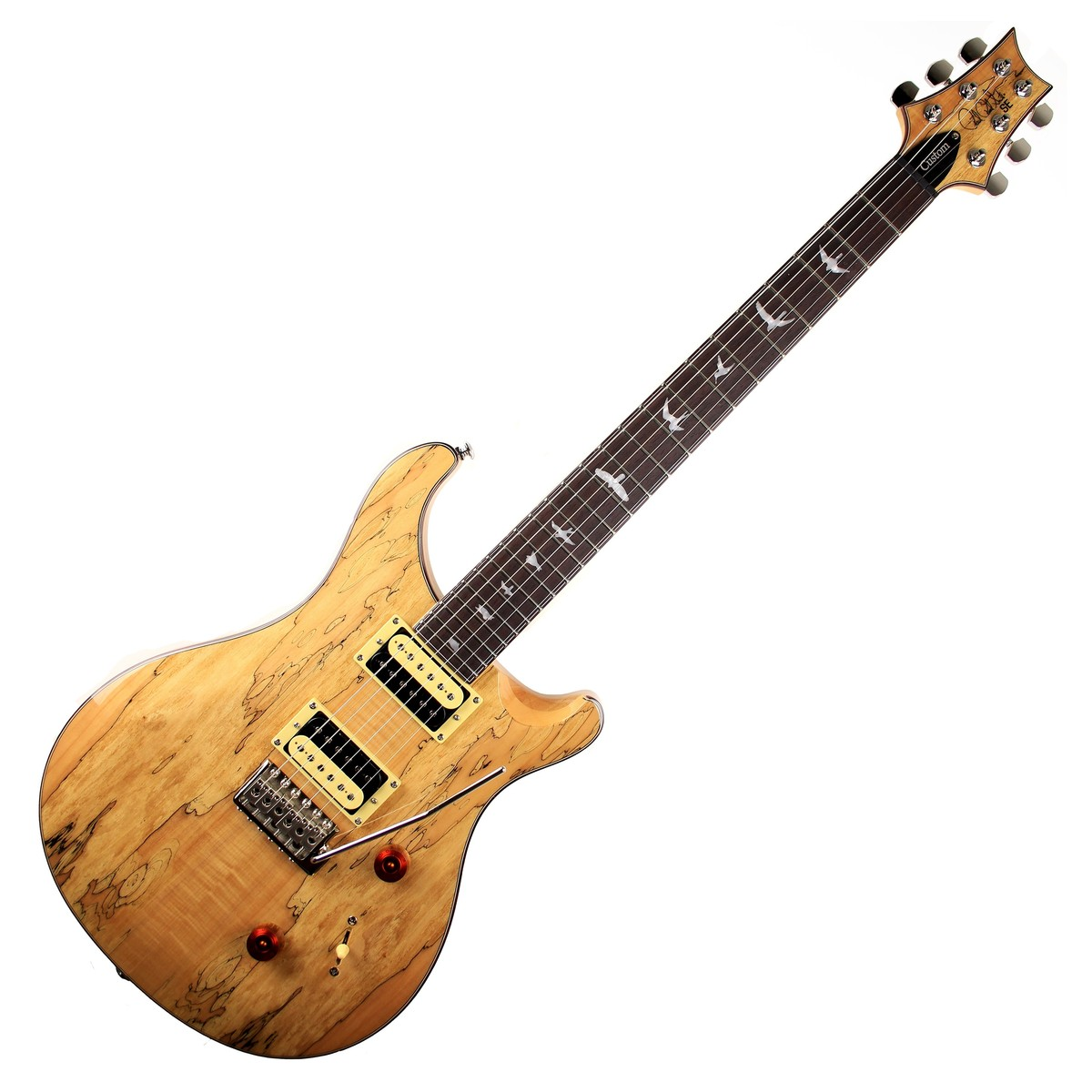 Prs Se Ltd Edition Exotic Wood Custom 24 Spalted Maple At