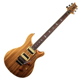PRS SE LTD Edition Exotic Wood Custom 24 Floyd, Zebrawood 1
