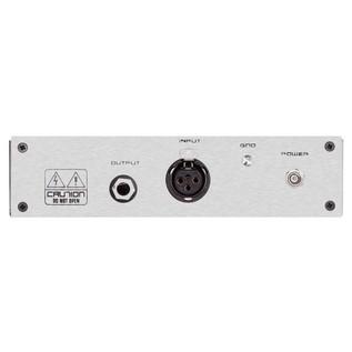 Black Lion Audio B12A MKII Mic Pre - Rear