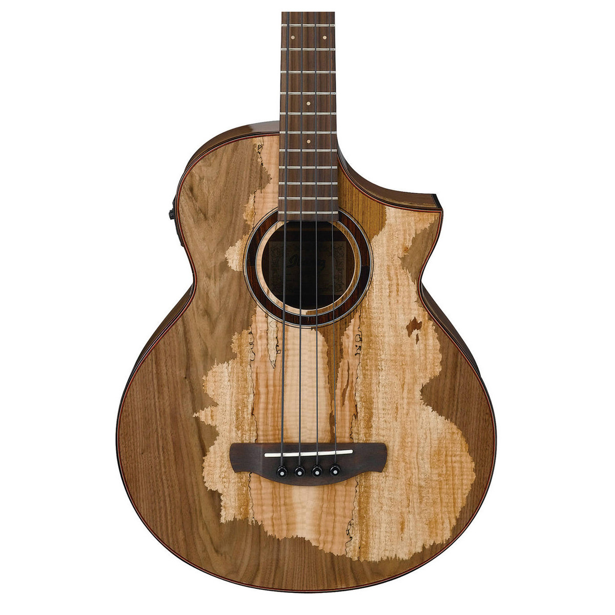 ibanez aewb50 electro acoustic bass multi wood mosaic b stock at gear4music. Black Bedroom Furniture Sets. Home Design Ideas