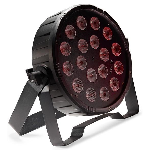 Stagg Flat Ecopar 18 Spotlight With 18 x 1W RGB (3 In 1) LED