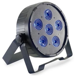 Stagg Flat Ecopar 6 Spotlight With 6 x 12W RGBWAUV (6 In 1) LED