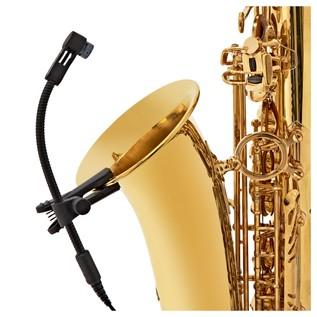 Sennheiser E908 B EW Condenser Microphone For Saxophones