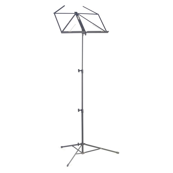 Stagg MUS-A3 BK Collapsible 3 Sections Music Stand, Black