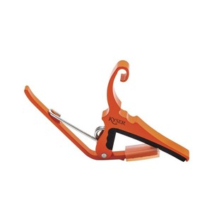 Kyser Quick Change Capo, Orange Blaze
