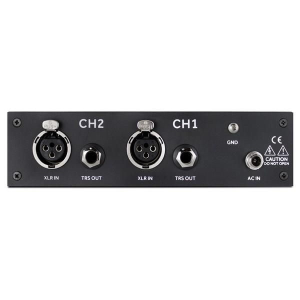 Black Lion Audio Auteur MKII Twin Channel Mic Pre - Rear
