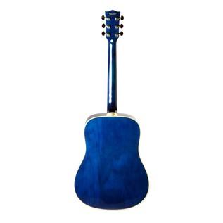 Eko NXT D Acoustic Guitar, Blue SBT Back
