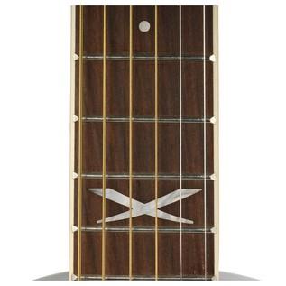 Eko NXT D Acoustic Guitar, Black Neck
