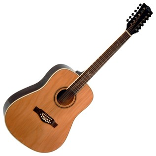Eko NXT D XII Acoustic Guitar, 12 String Natural Front