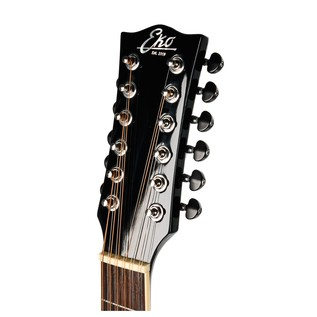 Eko NXT D XII Acoustic Guitar, 12 String Natural headstock