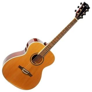 Eko NXT 018 Acoustic Guitar, Natural Front