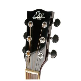 Eko NXT 018 Acoustic Guitar, Natural headstock