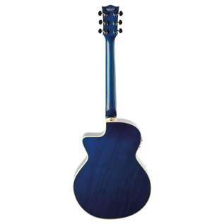 Eko NXT 018 CW EQ Electro Acoustic Guitar, Blue SB back