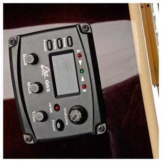 Eko NXT 018 CW EQ Electro Acoustic Guitar, Blue SB EQ