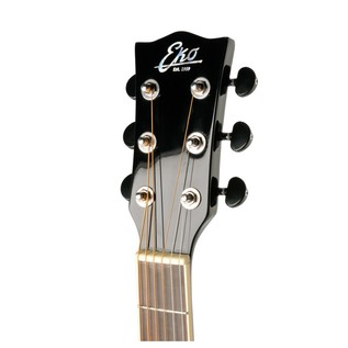 Eko NXT 018 CW EQ Electro Acoustic Guitar, Black headstock