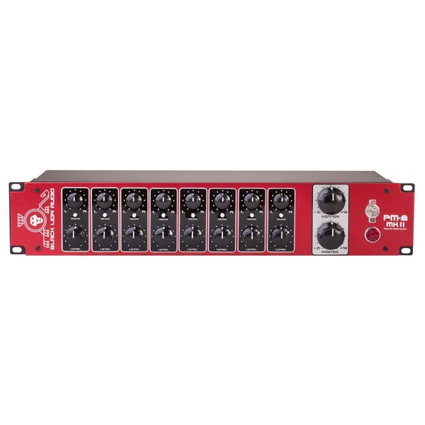 Black Lion Audio PM8 MKII Summing Mixer - Front
