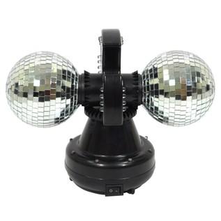 Cheetah Twin Ball 4 Inch LED Mirror Ball