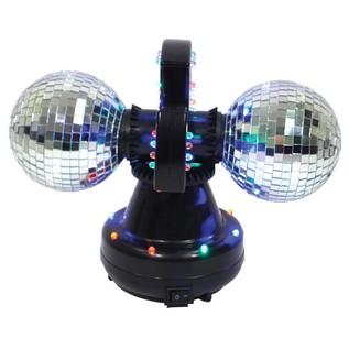 Twin Ball LED Mirror Ball