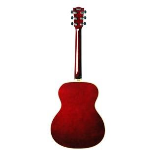 Eko NXT 018 Acoustic Guitar, Wine Red back