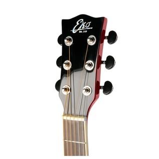 Eko NXT 018 Acoustic Guitar, Wine Red Headstock