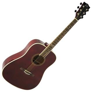 Eko NXT D Acoustic Guitar, Wine Red