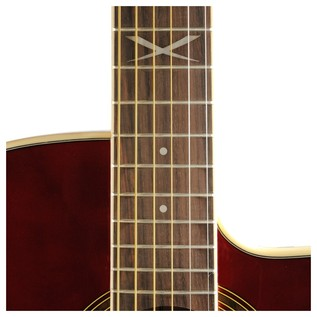 Eko NXT 018 CW EQ Electro Acoustic Guitar, Wine Red 12 fret