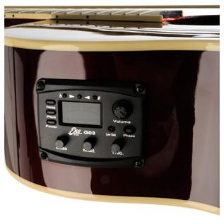 Eko NXT 018 CW EQ Electro Acoustic Guitar, Wine Red EQ