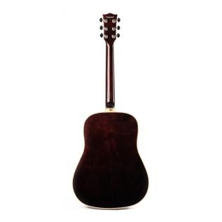 Eko NXT D Acoustic Guitar, Natural LH Back