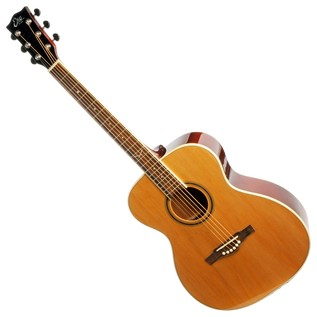 Eko NXT 018 Acoustic Guitar, Natural LH Front