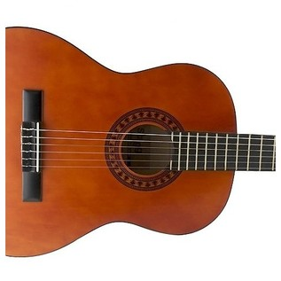Stagg C432 3/4 Size Linden Classical Guitar, Natural Sound Hole