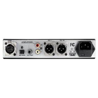 Black Lion Audio White Sparrow DAC Converter - Rear