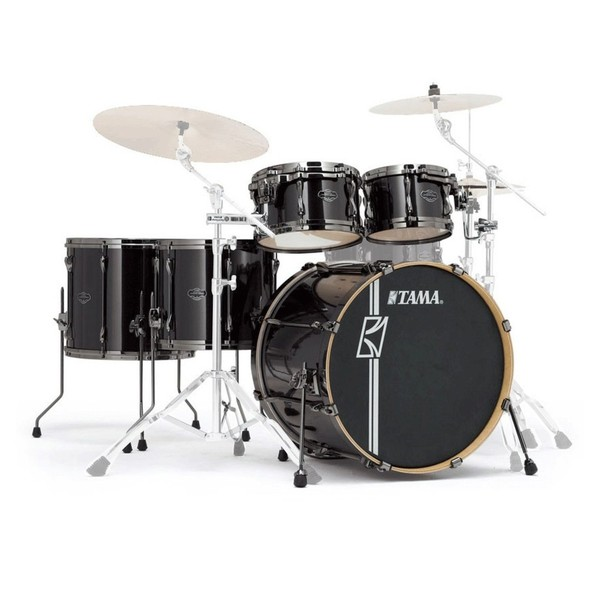 "Tama Superstar Hyper-Drive 22"" 5pc Shell Pack, Brushed Charcoal Black"