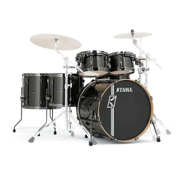 "Tama Superstar Hyper-Drive 22"" 5pc Shell Pack, Midnight Gold Sparkle"