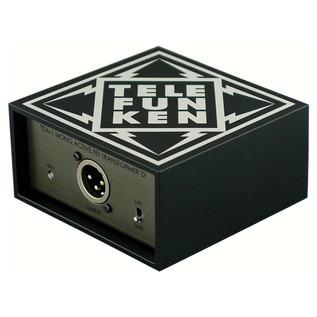 Telefunken TDA-1 Active DI Box - Angled