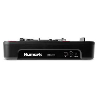 Numark PT01 Scratch Portable Turntable - Side View 1