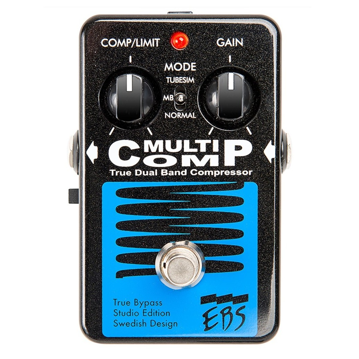 Ebs Multicomp Studio Edition Compressor Pedal At Gear4music Overvoltage Protected Control