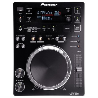 Pioneer CDJ-350 Digital Multimedia Deck - Top
