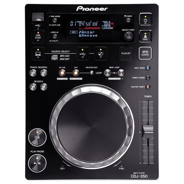 Pioneer CDJ-350 Digital Multimedia Deck - Top